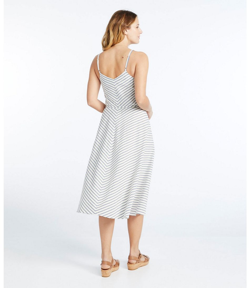 Signature Strappy Seersucker Dress