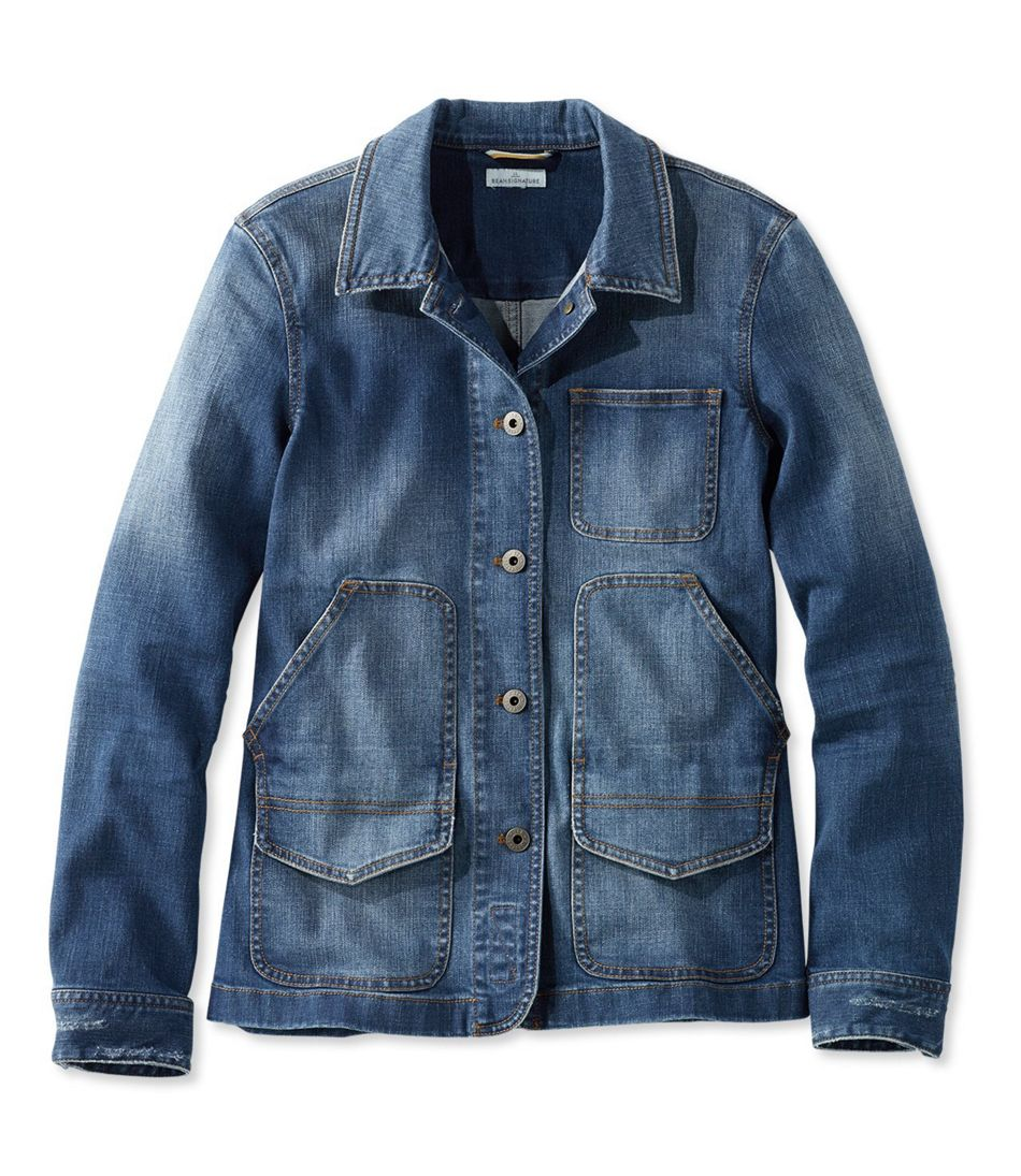 Signature Denim Barn Jacket