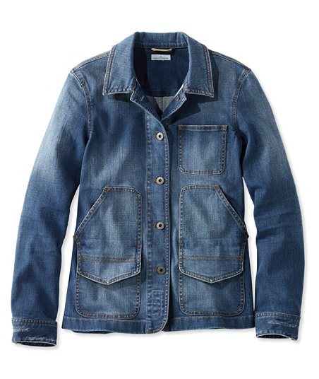 Vintage Coats & Jackets | Retro Coats and Jackets 1924 Signature Denim Barn Jacket $99.00 AT vintagedancer.com