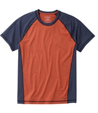 L.L.Bean UPF 50+ Sun Shirt, Colorblock