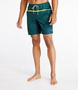 "Men's Vacationland Stretch Swim Trunks, 8"""