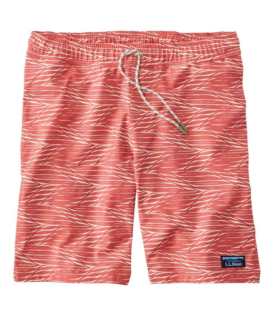 "Men's Vacationland Stretch Swim Trunks, 8"", Print"
