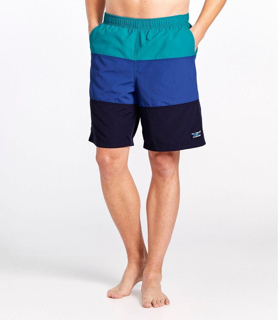 "Classic Supplex Sport Shorts, Colorblock 9"""