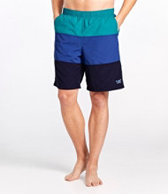 Classic Supplex Sport Shorts, Colorblock 9""