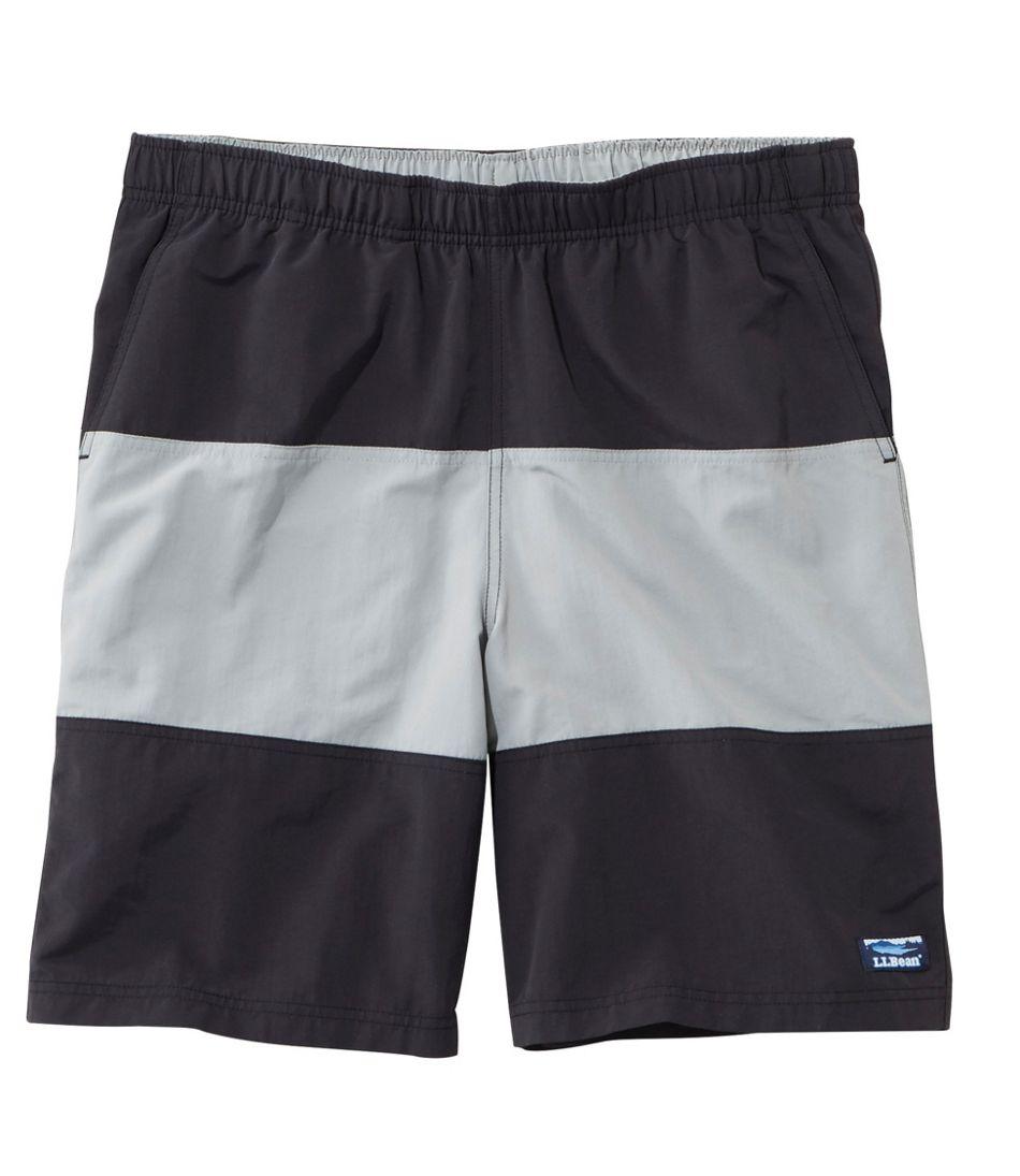 """Men's Classic Supplex Sport Shorts, Colorblock 9"""""""