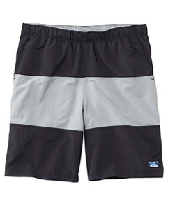 Men's Classic Supplex Sport Shorts, Colorblock 9""