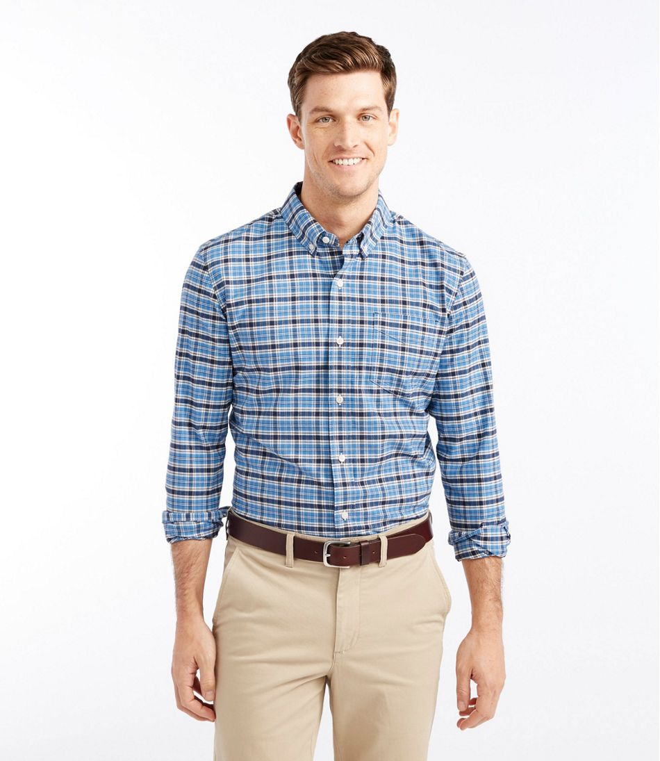 L.L.Bean Stretch Oxford Shirt, Slightly Fitted