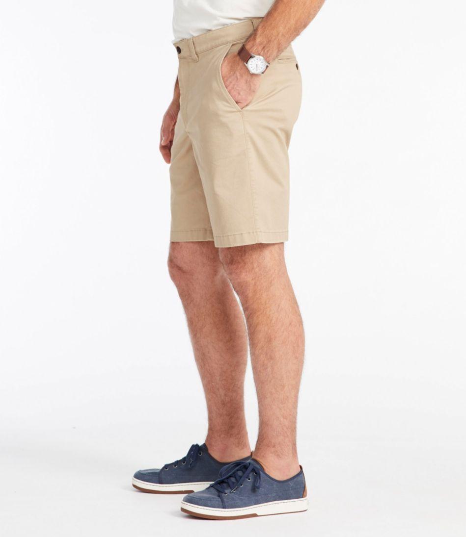 Lakewashed Stretch Khaki Shorts, Standard Fit