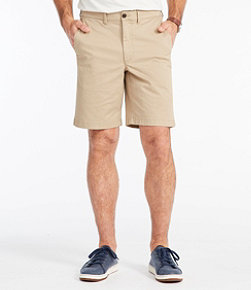 Men's Lakewashed Stretch Khaki Shorts, Standard Fit