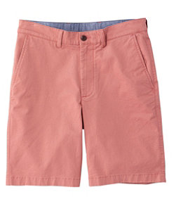 Lakewashed Stretch Khaki Shorts, Standard Fit