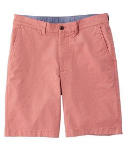 Men's Lakewashed Stretch Khaki Shorts, Standard Fit