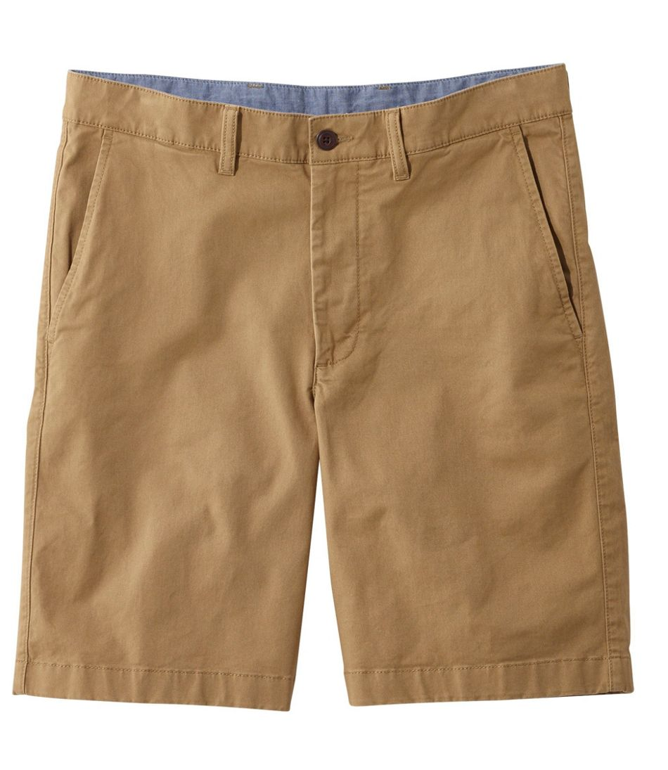 Men's Lakewashed® Stretch Khaki Shorts, Standard Fit