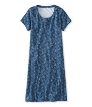 Ultrasoft Nightgown, Short-Sleeve Floral