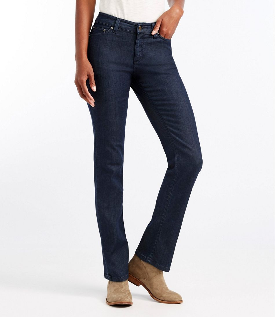 True Shape Lightweight Jeans, Classic Fit Straight-Leg
