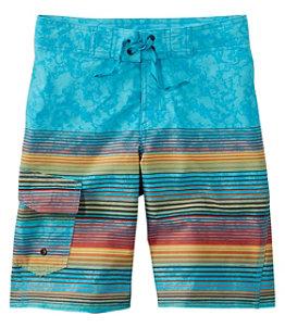 Boys' Riptide Stretch Board Shorts, Print