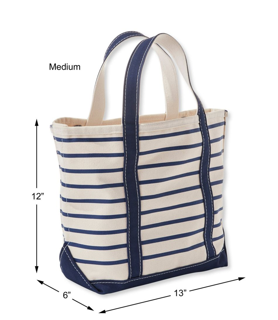 Boat and Tote, French Sailor Stripe