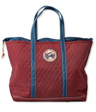 Quilted Patch Boat and Tote