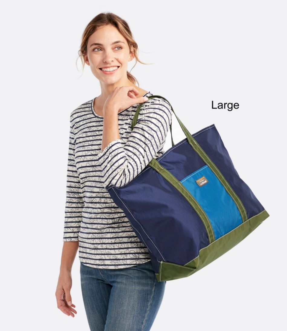 Everyday Tri-Color Tote