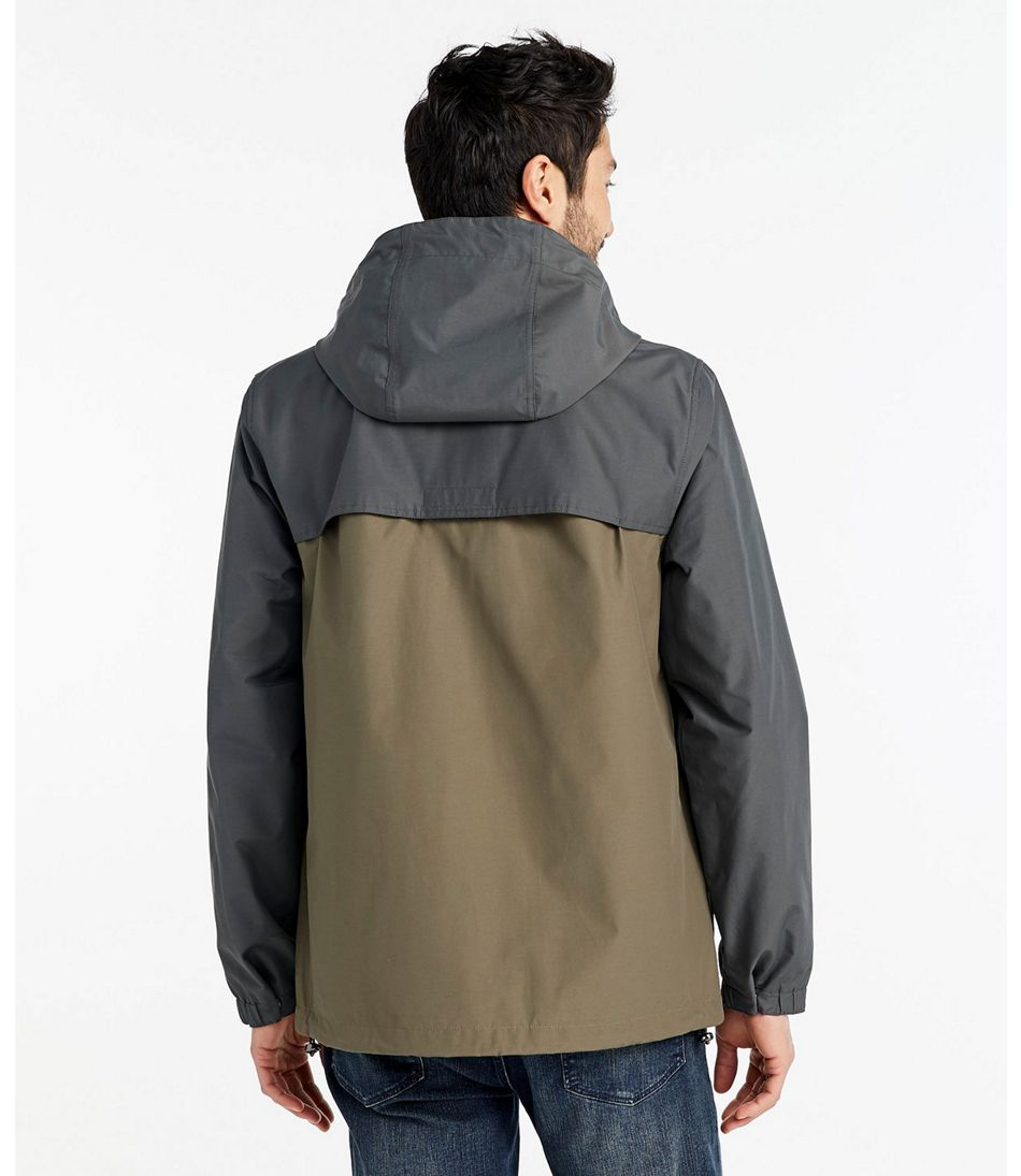 Signature Nylon Hooded Jacket, Colorblock