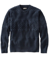 Signature Fisherman Crewneck Sweater