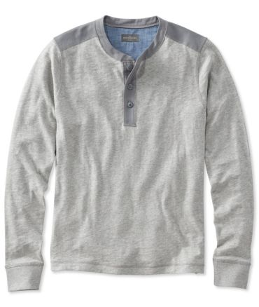 Signature Henley, Long-Sleeve