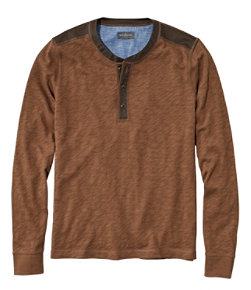 Men's Signature Henley, Long-Sleeve