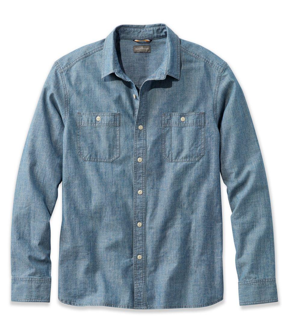 dae75be8d9e Men s Signature Chambray Shirt