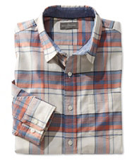 Signature Stretch Oxford Shirt, Slimmest Fit Long-Sleeve Plaid