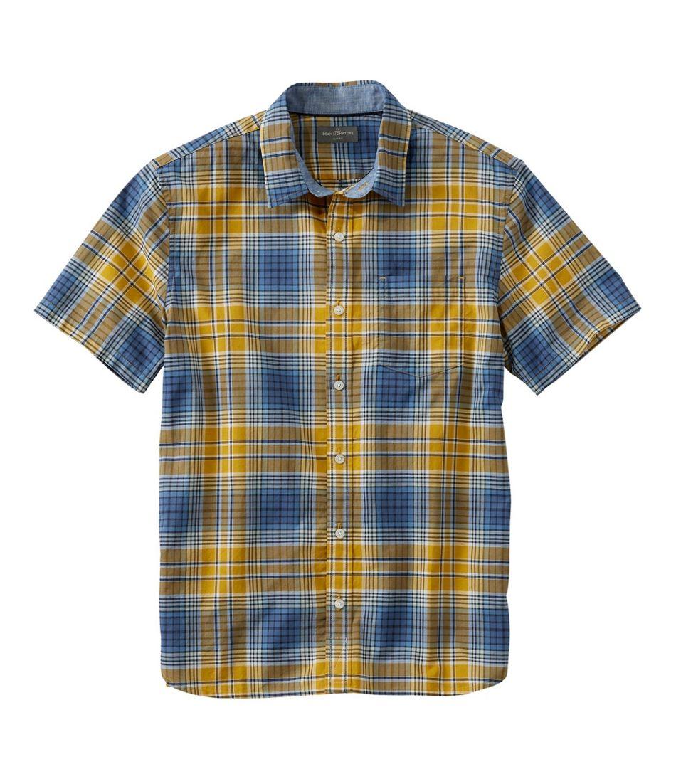 Signature Madras Shirt, Short-Sleeve, Plaid