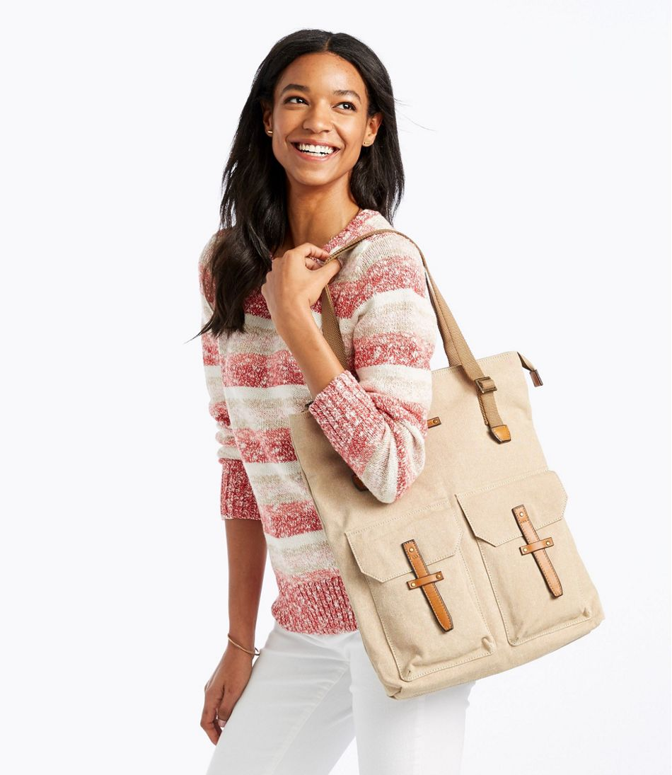 New Meadows Canvas Tote