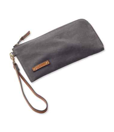 New Meadows Canvas Wrist Pouch