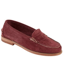 Signature Handsewn Suede Loafers