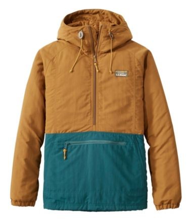 Men's Mountain Classic Insulated Anorak, Color Block