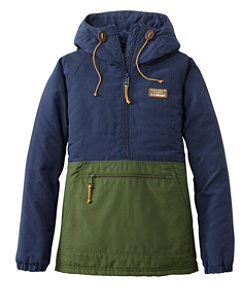 Women's Mountain Classic Insulated Anorak, Colorblock