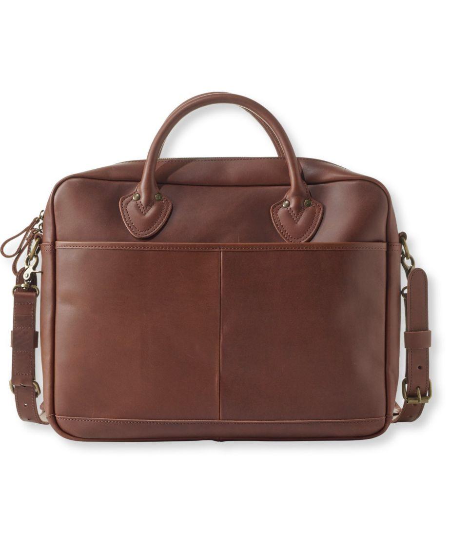 Men's Signature Leather Briefcase