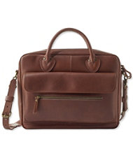 Men's Signature Leather Briefcase