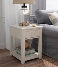 Painted Farmhouse End Table