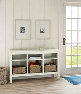 Painted Farmhouse Storage Console