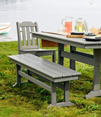 All-Weather Farmhouse Bench