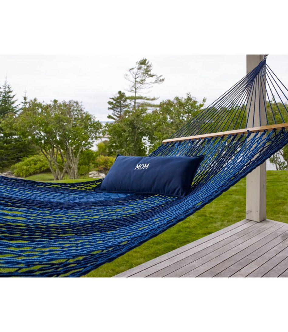Backyard DuraCord Hammock, Colorblock