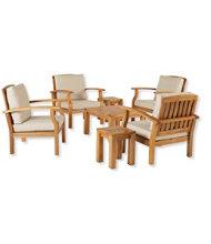 Wooden Deep Seating Set