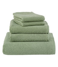 Organic Textured Cotton Bath Towel