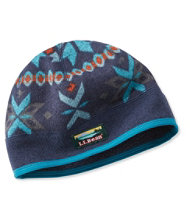 L.L.Bean Sweater Fleece Beanie, Print