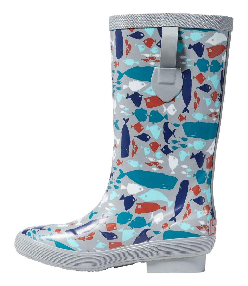 Kids' L.L.Bean Wellie Boots, Print