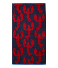 Seaside Beach Towel, Lobsters