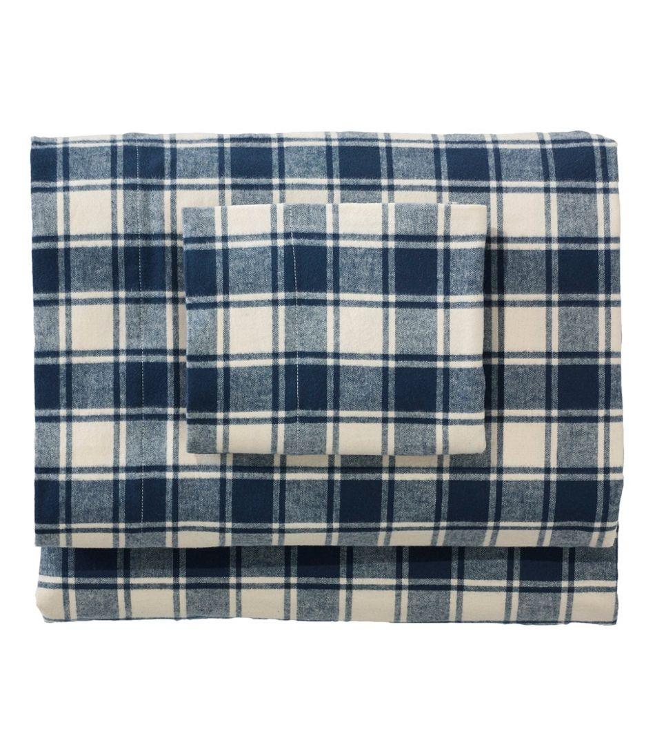 Ultrasoft Comfort Flannel Sheet Set, Check