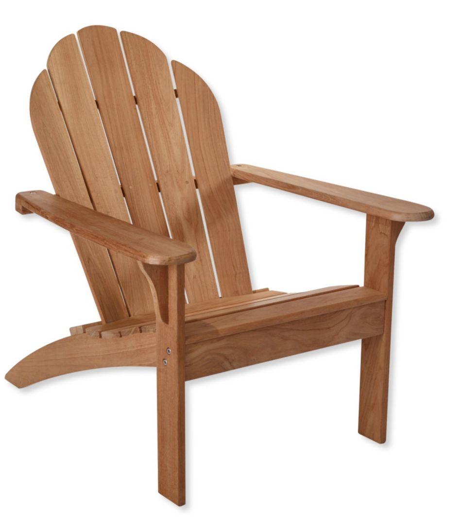 Teak Adirondack Chair