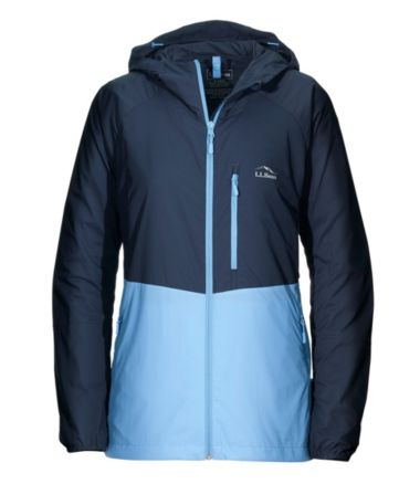 Katabatic Wind Hooded Jacket, Color Block