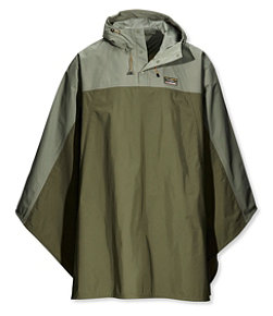 Men's Traverse Poncho, Colorblock