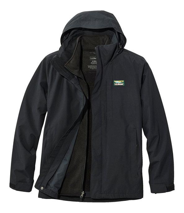 Sweater Fleece 3-in-1 Jacket, Black/Black, large image number 0